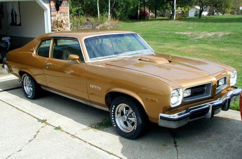 1974 Pontiac Ventura Gto