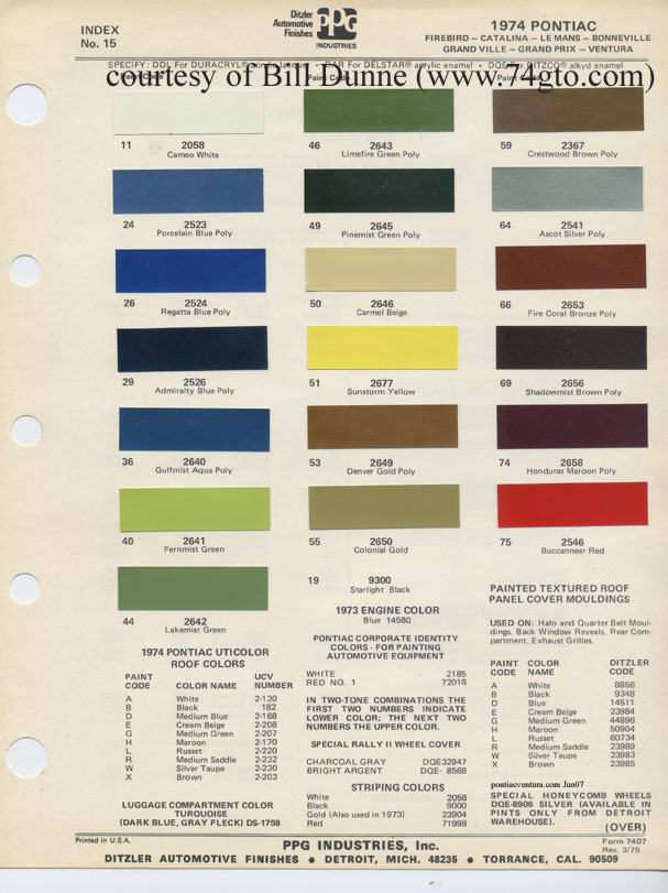 Freightliner Color Chart Related Keywords Suggestions